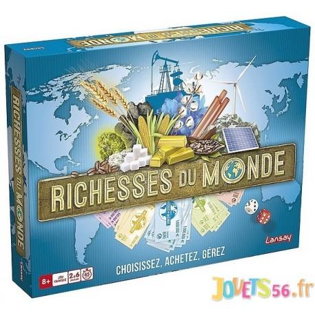 JEU RICHESSES DU MONDE - Jouets56.fr - Magasin jeux et jouets dans Morbihan en Bretagne