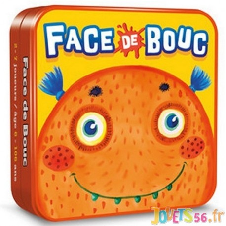 JEU FACE DE BOUC - Jouets56.fr - Magasin jeux et jouets dans Morbihan en Bretagne