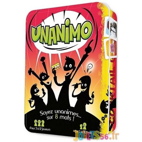 JEU UNANIMO - Jouets56.fr - Magasin jeux et jouets dans Morbihan en Bretagne