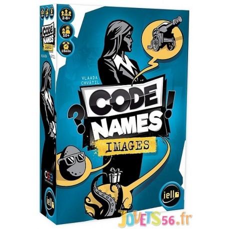 JEU CODE NAMES IMAGES - Jouets56.fr - Magasin jeux et jouets dans Morbihan en Bretagne