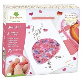COFFRET QUILLING LOVELY BOX GM