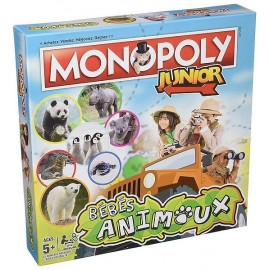 MONOPOLY JUNIOR BEBES ANIMAUX