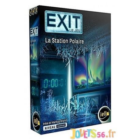 JEU EXIT LA STATION POLAIRE - Jouets56.fr - Magasin jeux et jouets dans Morbihan en Bretagne