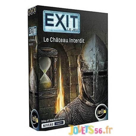 JEU EXIT LE CHATEAU INTERDIT - Jouets56.fr - Magasin jeux et jouets dans Morbihan en Bretagne