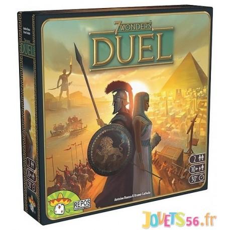 JEU 7 WONDERS DUEL - Jouets56.fr - Magasin jeux et jouets dans Morbihan en Bretagne