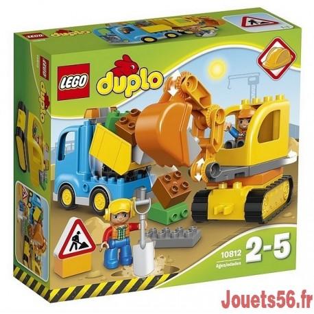 10812 CAMION ET PELLETEUSE DUPLO-jouets-sajou-56