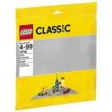 10701 GRANDE PLAQUE GRISE LEGO