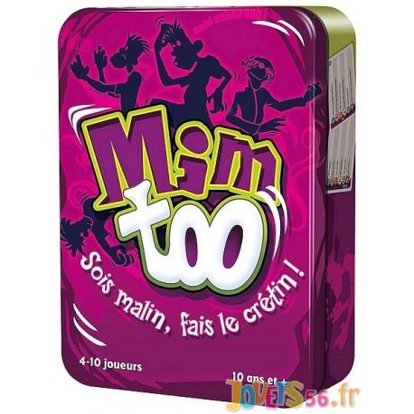 JEU MIMTOO BOITE METAL - Jouets56.fr - Magasin jeux et jouets dans Morbihan en Bretagne