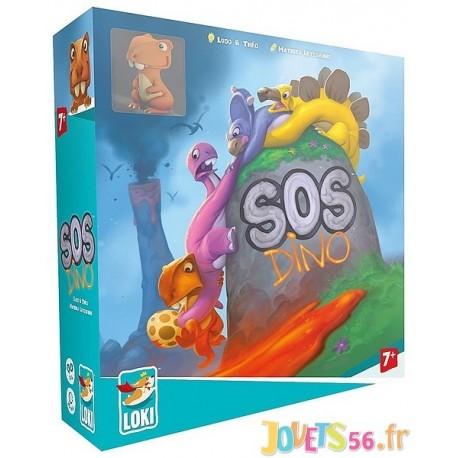 JEU SOS DINO - Jouets56.fr - Magasin jeux et jouets dans Morbihan en Bretagne