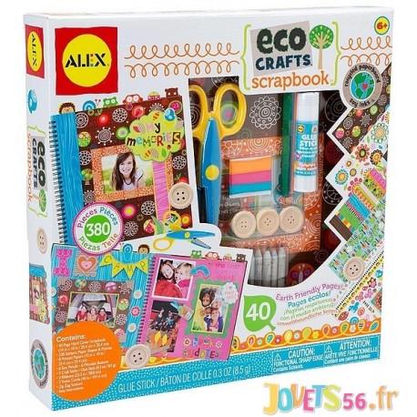 ALBUM SCRAPBOOKING A CREER ECOLOGIQUE - Jouets56.fr - Magasin jeux et jouets dans Morbihan en Bretagne
