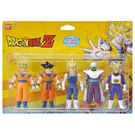 PACK 5 FIGURINES 11CM DRAGONBALL Z