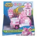 SUPER WINGS MINI FIGURINE TRANSFORMABLE ROBOT ASST