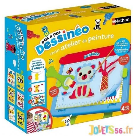 DESSINEO ATELIER DE PEINTURE - Jouets56.fr - Magasin jeux et jouets dans Morbihan en Bretagne