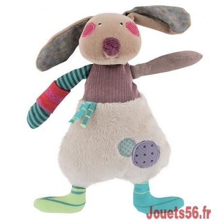 POUPEE LAPIN JOLIS PAS BEAUX-jouets-sajou-56
