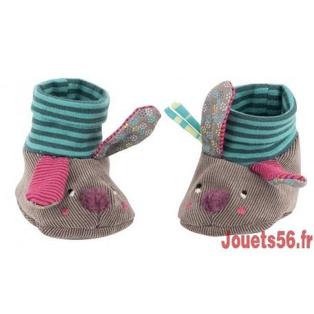CHAUSSONS LAPIN JOLIS PAS BEAUX-jouets-sajou-56