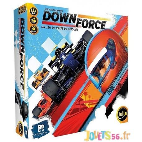 JEU DOWNFORCE - Jouets56.fr - Magasin jeux et jouets dans Morbihan en Bretagne