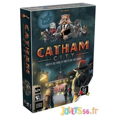 JEU CATHAM CITY - Jouets56.fr - Magasin jeux et jouets dans Morbihan en Bretagne