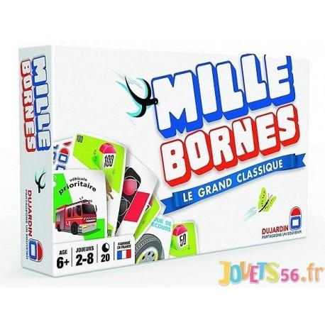 JEU MILLE BORNES LE GRAND CLASSIQUE - Jouets56.fr - Magasin jeux et jouets dans Morbihan en Bretagne