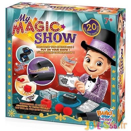 MY MAGIC SHOW SPECTACLE 20 TOURS DE MAGIE - Jouets56.fr - Magasin jeux et jouets dans Morbihan en Bretagne