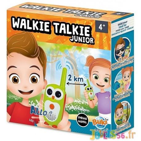 TALKIE WALKIE JUNIOR PORTEE 2KM - Jouets56.fr - Magasin jeux et jouets dans Morbihan en Bretagne