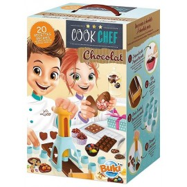 COOK CHEF CHOCOLAT AVEC MOULES ET 20 RECETTES - Jouets56.fr - Magasin jeux et jouets dans Morbihan en Bretagne