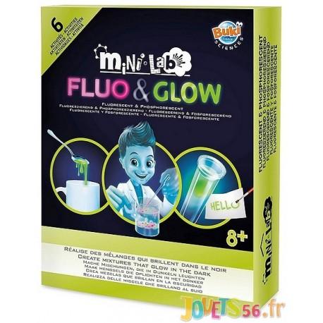 MINI LAB FLUO ET GLOW - Jouets56.fr - Magasin jeux et jouets dans Morbihan en Bretagne