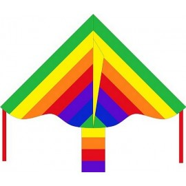 CERF VOLANT DELTA RAINBOW 85X42CM-jouets-sajou-56