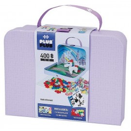 VALISETTE PLUS PLUS LICORNE PRINCESSE 400 PIECES