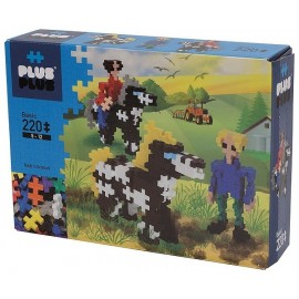 PLUS PLUS BOX BASIC CAVALIERS CHEVAUX 220 PCS