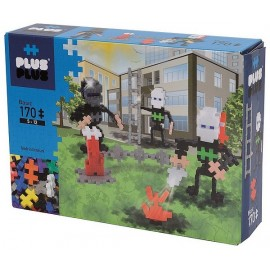PLUS PLUS BOX BASIC POMPIERS 170 PIECES