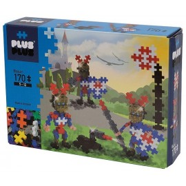 PLUS PLUS BOX BASIC CHEVALIERS DORES 170 PIECES