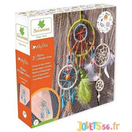 BIJOUX ATTRAPE REVES LOVELY BOX PM - Jouets56.fr - Magasin jeux et jouets dans Morbihan en Bretagne