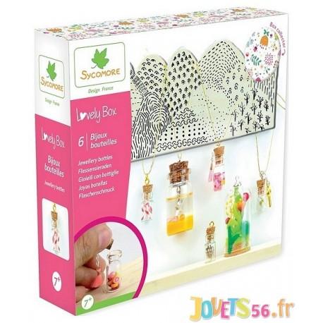 BIJOUX BOUTEILLES LOVELY BOX PM - Jouets56.fr - Magasin jeux et jouets dans Morbihan en Bretagne