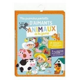 ANIMAUX DE LA FERME POCHETTE D'AIMANTS