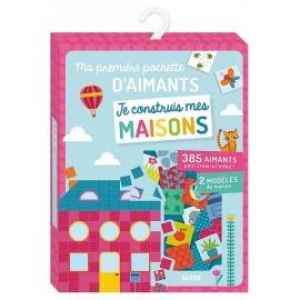MA PREMIERE POCHETTE D'AIMANTS JE CONSTRUIS MA MAISON - Jouets56.fr - Magasin jeux et jouets dans Morbihan en Bretagne