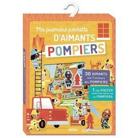 MA PREMIERE POCHETTE D'AIMANTS POMPIERS - Jouets56.fr - Magasin jeux et jouets dans Morbihan en Bretagne
