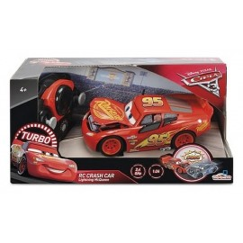 VOITURE FLASH MC QUEEN CARS3 CRASH RADIOCOM 1.24E