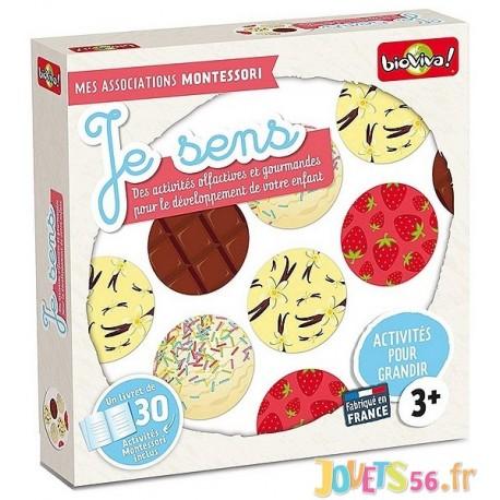 JE SENS MES ASSOCIATIONS MONTESSORI  - Jouets56.fr - Magasin jeux et jouets dans Morbihan en Bretagne