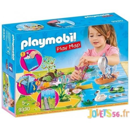 9330 FEES AVEC CARTE SUPPORT DE JEU PLAYMAP - Jouets56.fr - Magasin jeux et jouets dans Morbihan en Bretagne