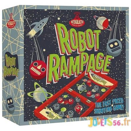 JEU ROBOT RAMPAGE EN BOIS - Jouets56.fr - Magasin jeux et jouets dans Morbihan en Bretagne