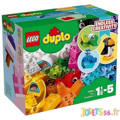 LES CREATIONS AMUSANTES LEGO DUPLO - Jouets56.fr - Magasin jeux et jouets dans Morbihan en Bretagne