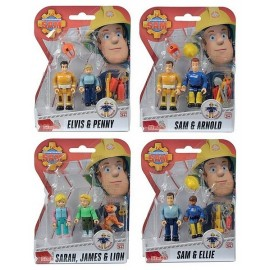 PACK 2 FIGURINES SAM LE POMPIER SAISON 2