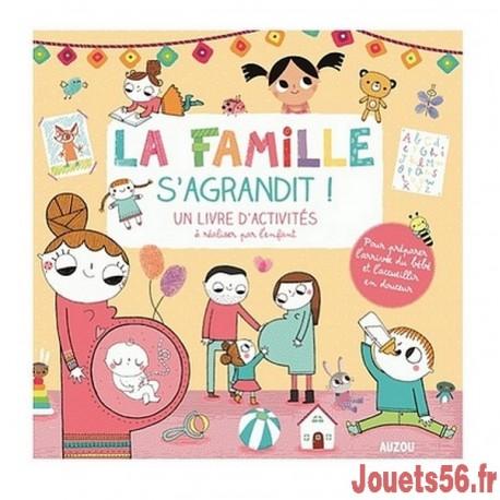 LA FAMILLE S'AGRANDIT - LIVRE D'ACTIVITES-jouets-sajou-56
