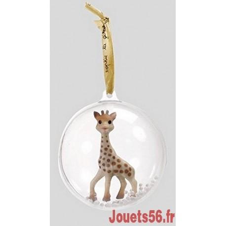 BOULE DE NOEL SOPHIE LA GIRAFE-jouets-sajou-56