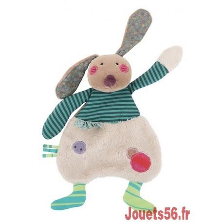 DOUDOU LAPIN JOLIS PAS BEAUX-jouets-sajou-56