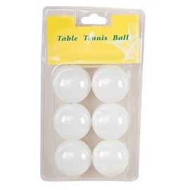 6 BALLES PING PONG 3 ETOILES