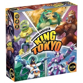 JEU KING OF TOKYO - Jouets56.fr - Magasin jeux et jouets dans Morbihan en Bretagne