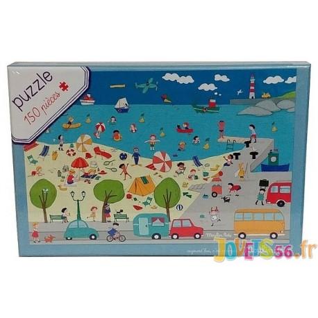PUZZLE A LA MER 150 PIECES - Jouets56.fr - Magasin jeux et jouets dans Morbihan en Bretagne