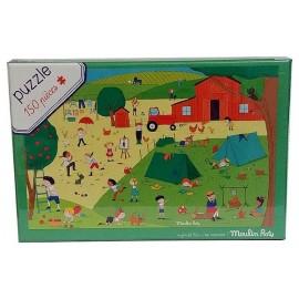 PUZZLE A LA CAMPAGNE 150 PIECES - Jouets56.fr - Magasin jeux et jouets dans Morbihan en Bretagne