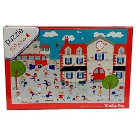 PUZZLE A LA RECRE 150 PIECES - Jouets56.fr - Magasin jeux et jouets dans Morbihan en Bretagne